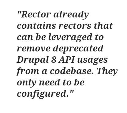 Drupal 8 to Drupal 9 Upgrade- Drupal-Rector- Rector already contains rectors